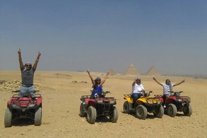 1 Hour ATV at Giza Pyramids from Cairo photo 3