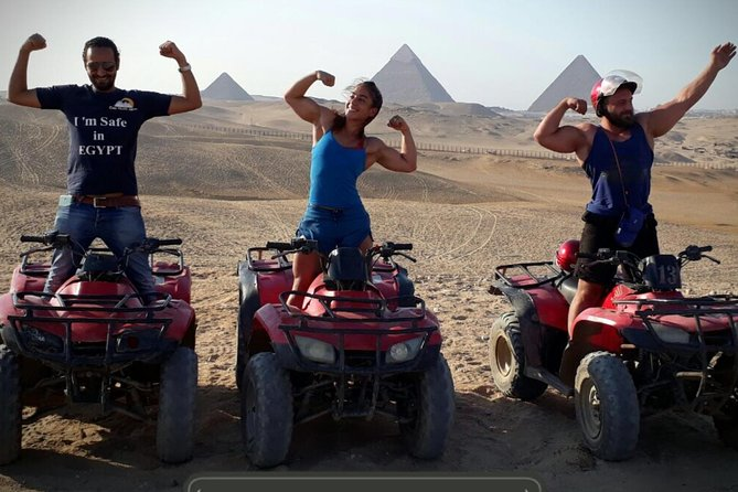 1 Hour ATV at Giza Pyramids from Cairo photo 6
