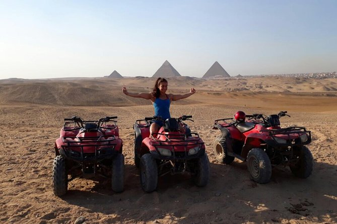 Custom Tour to Giza Pyramids and Desert ATV