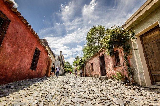 Visita privada a Colonia del Sacramento de Montevidéu por Van