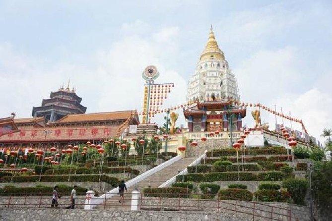 Excursion privée d'une demi-journée au temple de Penang Kek Lok Si