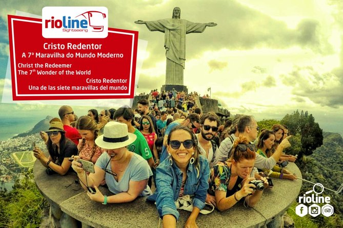 Christ the Redeemer Tour by Van or Train through Rainforest - Skip the Line Tkt