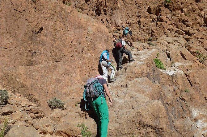 La ruta de los nómadas o la ruta del vértigo con una bonita caminata de regreso en 6 horas