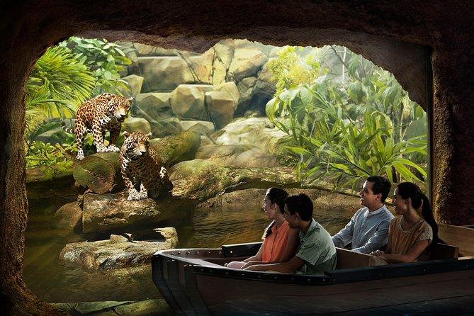 Singapore River Safari Tour with Transfer