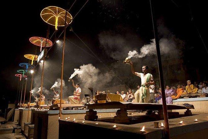 Full-Day City Tour of Varanasi visit Sarnath Including Evening Ganga Aarti