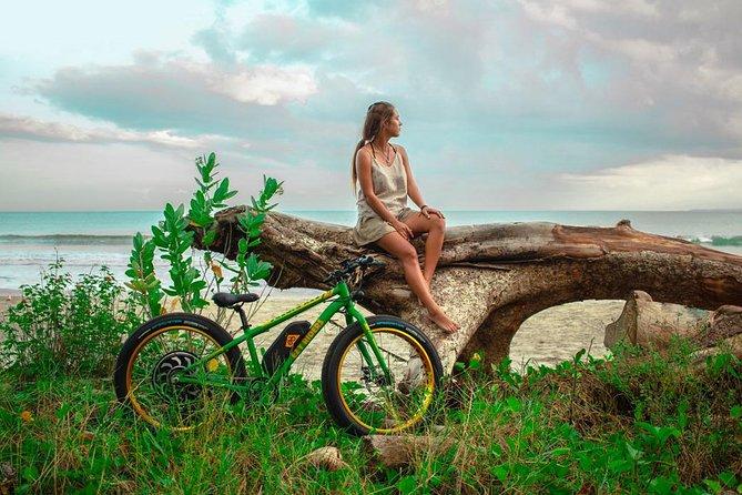 Kuta Beach E-Bike Half Day Tour