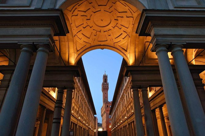Walking Tour with Skip the Line and Guided Tour of Uffizi Gallery
