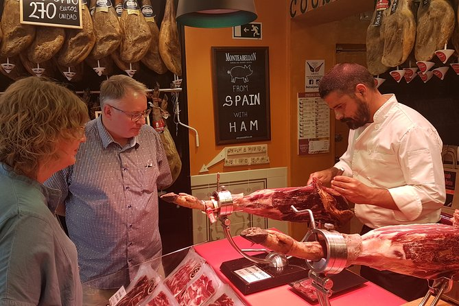 Iberico Ham & Spanish Wine Small Group - Madrid Food Tour