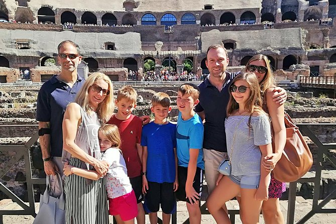 Skip-the-Line Colosseum & Ancient Rome Tour for Kids & Families with Francesca