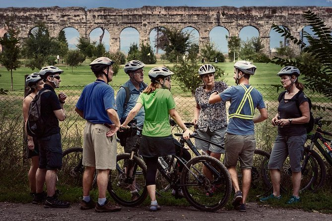 Ancient Appian Way, Catacombs and Roman Aqueducts Electric-Assist Bicycle Tour photo 10