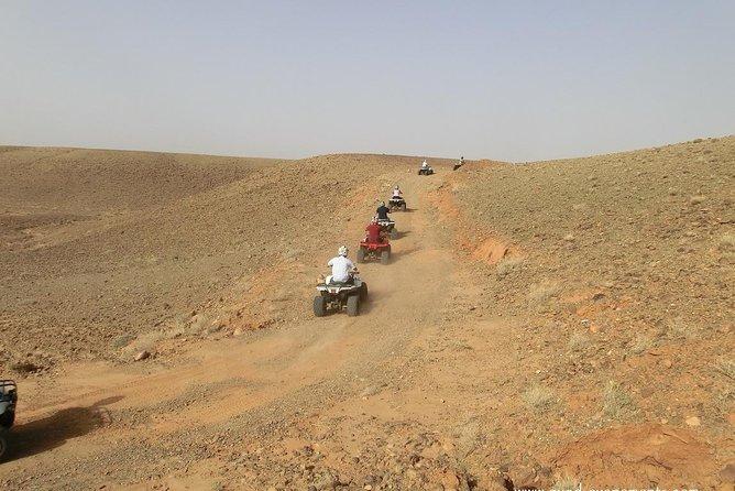 Quad biking adventure tour in Marrakech Palm Grove