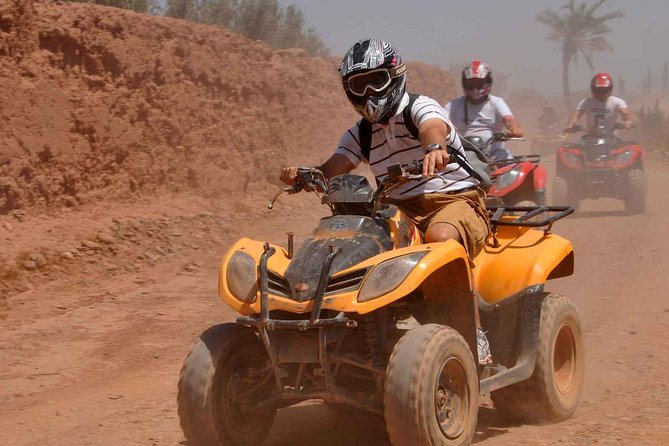 Drive Quad & Have fun in Palm grove in Marrakech