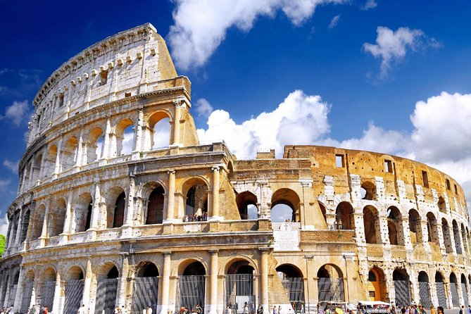 Semi Private Colosseum Tour with Roman Forum and Palatine Hill