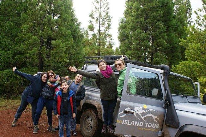 Excursión de medio día a la isla de Terceira en vehículo 4x4