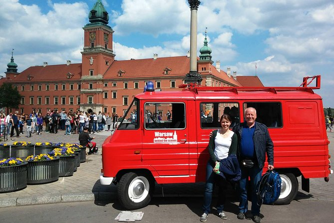 Private Tour: Top of Classic Warsaw by retro minibus