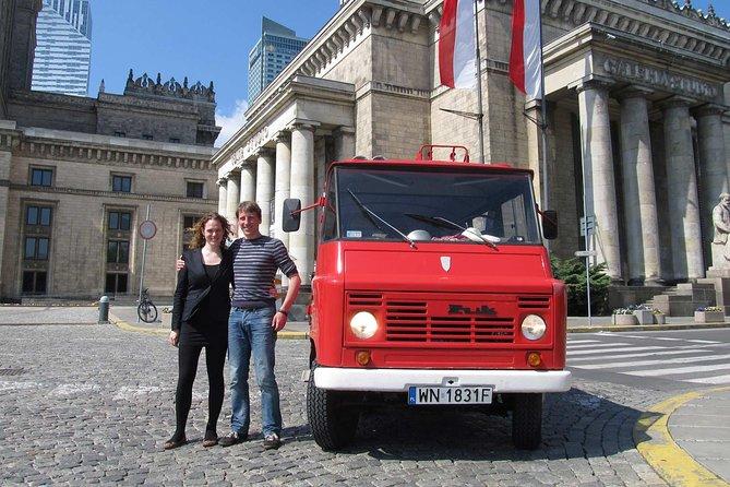 Plan your custom trip - Warsaw private tour by retro minibus