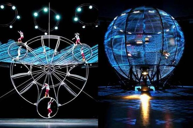 Shore Excursions: Acrobatic Show and Din Sum Tasting