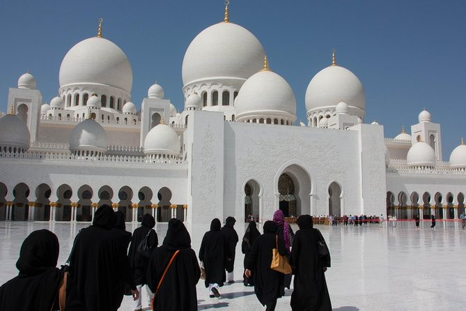Private Tour from Ras Al Khaimah hotels : Abu Dhabi 10 hours with Car & Driver
