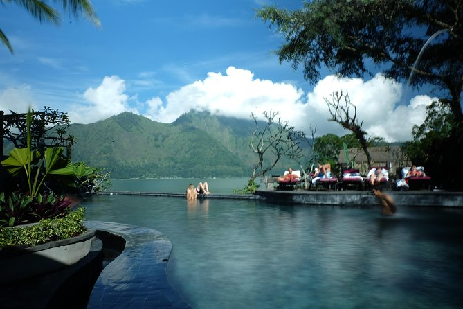 The Monkey Forest, Volcano, Holy Spring Water Temple & Natural Hot Spring Tour