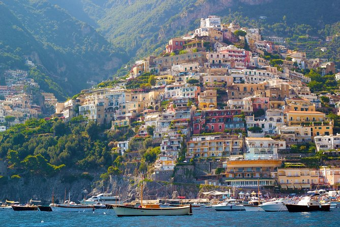 Naples Shore Excursion Private Tour: Sorrento, Positano and Amalfi Day Trip from Naples