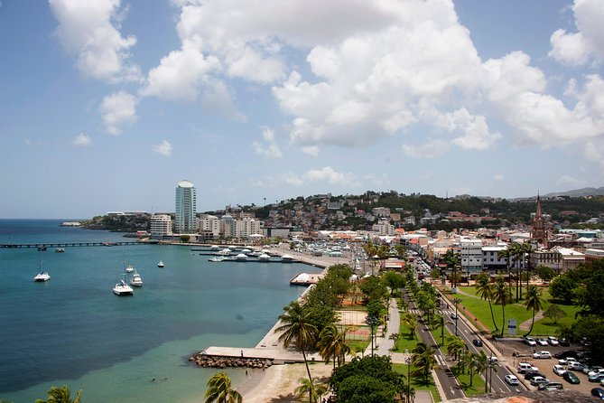 Martinique Shore Excursion - Walking tour of the downtown of Fort de France