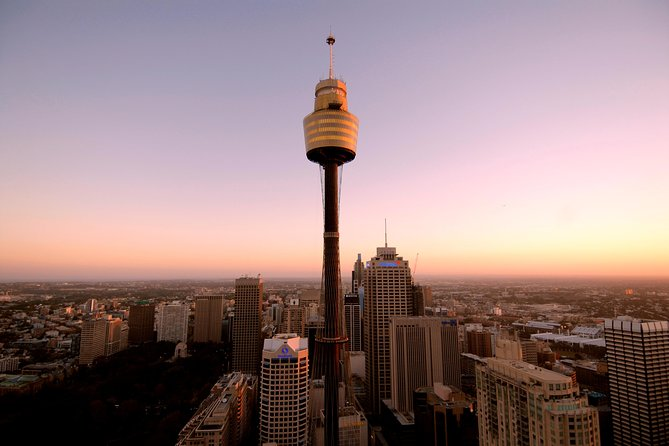 Sydney Shore Excursion: Sydney Tower Restaurant Buffet