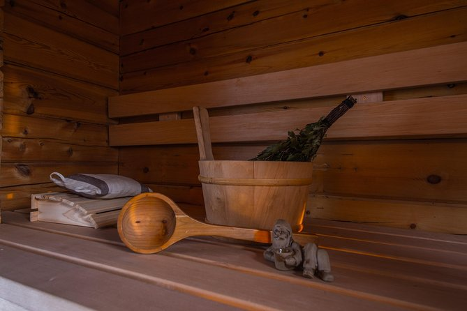 Traditional Finnish Firewood Sauna
