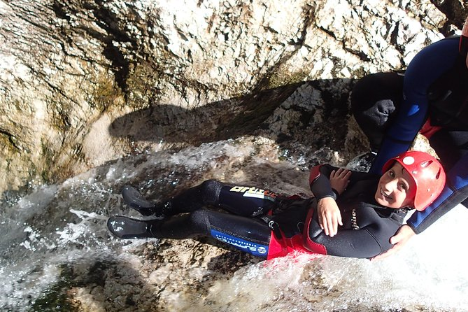 kids enjoy canyoning a lot