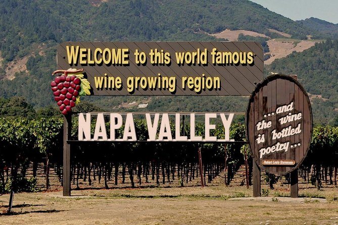 Napa Pure Fascination Wine Tour from San Francisco by Private Minivan
