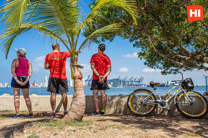 Bicycle Tour of Cartagena, Colombia Including the City and the Seashore
