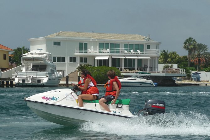 Excursão Terrestre de Curaçao: Excursão de Jet Ski ou Snorkel em Bote