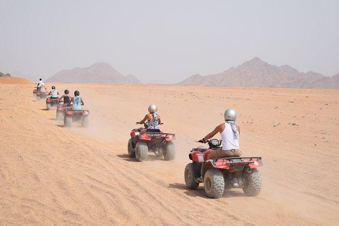 Quad Bike in Sharm El Sheikh Desert