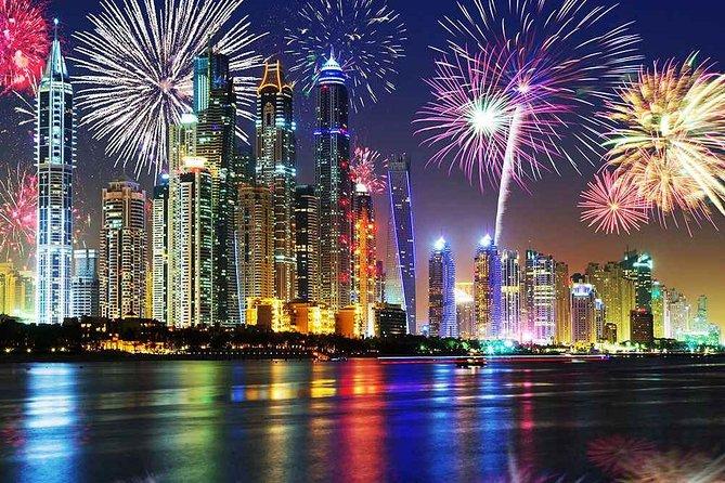 Dubai Canal New Year Gala Dinner Cruise with Sun and Sky Cruise 2020