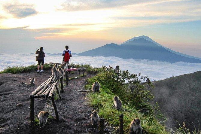 Bali Sunrise Trekking: Mt. Batur Volcano with Hot Springs