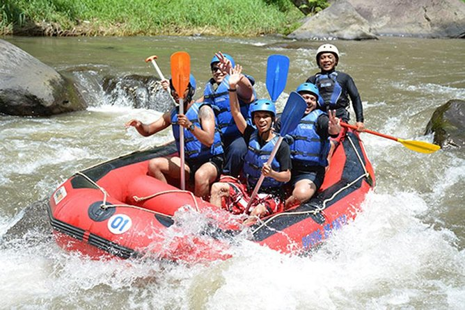White Water Rafting Ubud with Hotel Transfer and Lunch