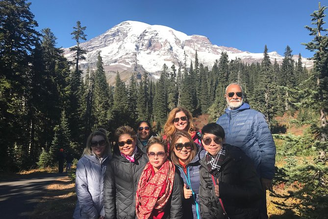 Mount Rainier Premium Small Group Tour Gourmet Lunch Included