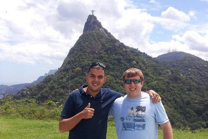 Visite d'une journée complète à Rio - Forêt de Tijuca, Christ, Pain de sucre, Escaliers et Centre-ville de Rio