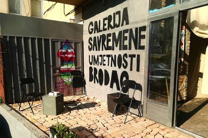 SARAJEVO CONCEPTUAL ART TOUR (galleries, art and arhitecture)