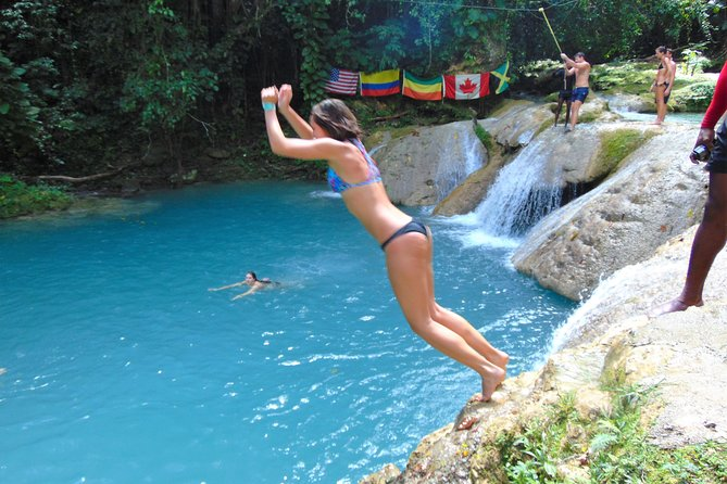 Blue Hole plus Secret Falls and Dunns River Falls Combo from Falmouth Hotels photo 8