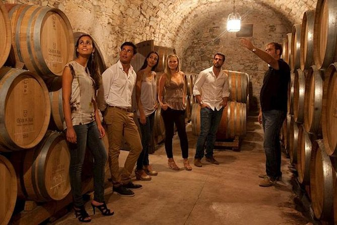 Take an exclusive behind-the-scenes winery tour