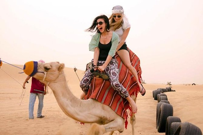 Dubai 4 Tours :Desert Safari,Dubai City Tour,Cruise Dinner & Abu Dhabi City Tour