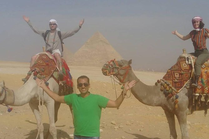Private tour to Giza Pyramids, Sphinx and Egyptian museum