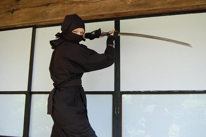 Tokyo Ninja Experience at the Samurai Traditional House