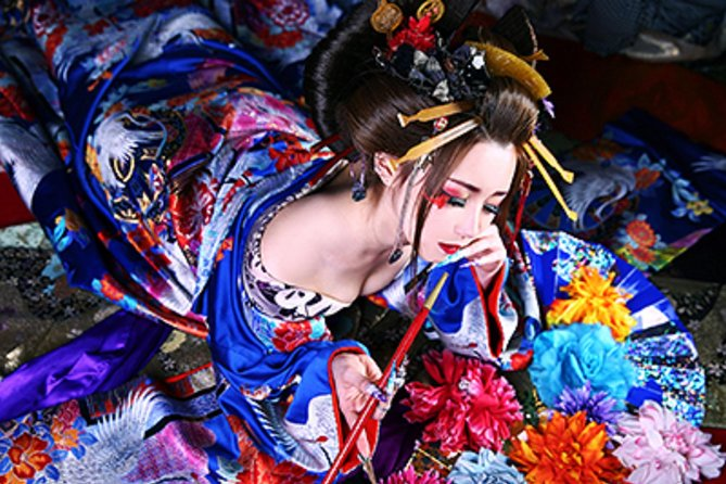 Dress like an 'Oiran': A Japanese Courtesan from the 17th Century