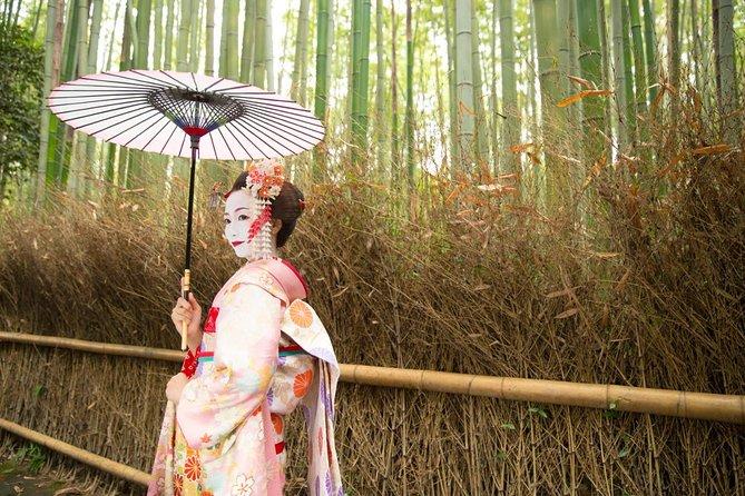 Kyoto Maiko Walking & Photo Shoot Experience