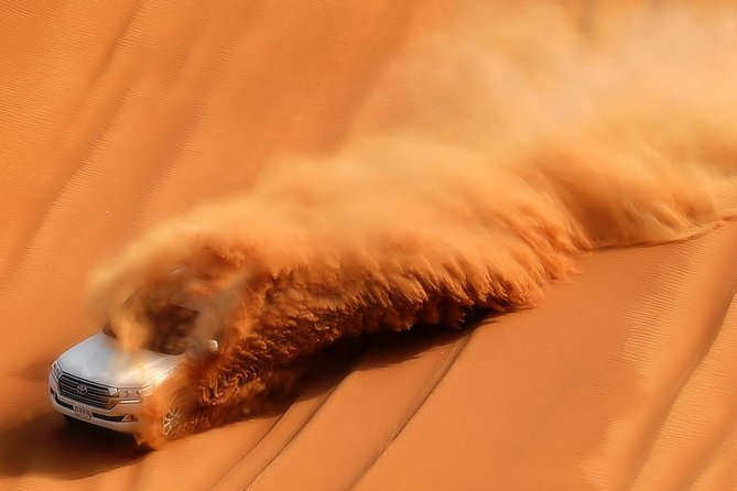 Mid-Day Dubai Desert Safari with Sand surfing and BBQ Lunch