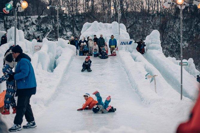Explore Shikotsu Ice Festival (day tour)