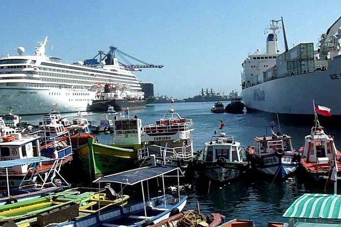 TOUR PRIVADO: Pré-Post Cruise Viña del Mar Valparaíso e Casablanca Winery tour