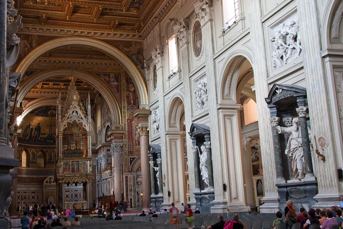 St John Lateran Holy Stairs and Baptistery Private Tour