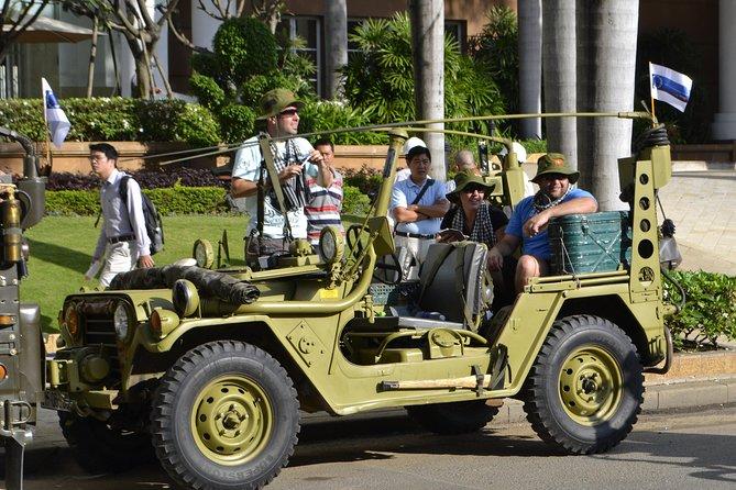 Excursión de medio día por la ciudad de Ho Chi Minh en el Jeep del ejército restaurado